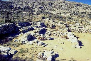 La villa Minoenne à Amnisos
