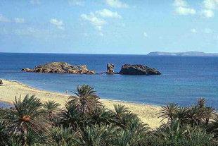 Η παραλία του Βάϊ