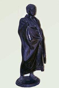 Μπρούτζινο Ρωμαϊκό άγαλμα από την Ιεράπετρα (1ος αιώνας π.Χ.)