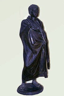 Bronze Roman statue from Ierapetra (1C B.C.)