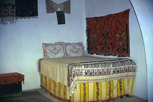 A room in a traditional Cretan house