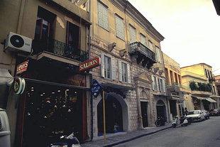 Ένα Βενετικό μέγαρο στην Οδό Αρκαδίου στο Ρέθυμνο