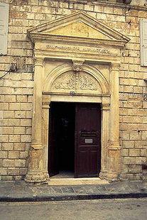 Portal eines venezianischen Wohnhauses in Rethimnon