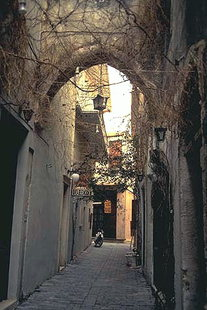 Venetian arch on Vafe St. in Rethimnon