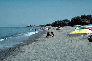 Agia Marina and Platanias beach