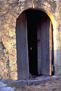 The deserted Lower Preveli Monastery