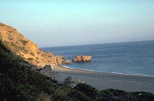Η παραλία στη Σούγια