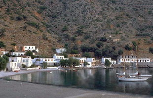 The small village of Loutro