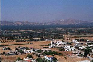 The Mesara Plain viewed from the Venetian castle, Harakas