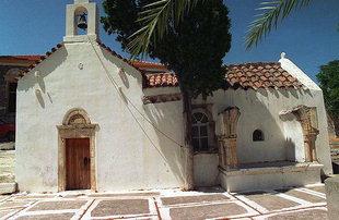 Die byzantinische Agios Athanasios-Kirche in Lithines
