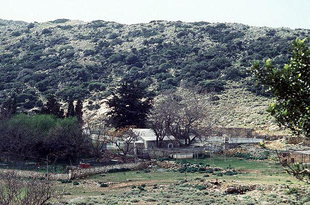 Das Agios Ioannis Gionis-Kloster auf der Spatha-Halbinsel
