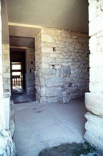 Corridor of the Bays in Knossos