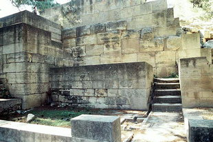 The East Bastion in Knossos
