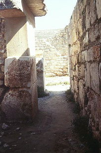 The Passage Way from the Central Court to the Magazine, Knossos