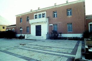 Das türkische Gerichtsgeäude in Neapolis