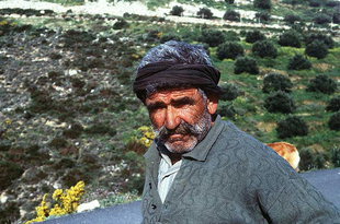 Cretan shepherd,Iraklion