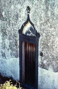 The portal of the Panagia Church in Vigli