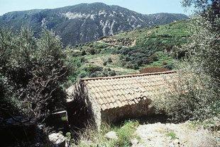 L'église de la Panagia à Rodovani