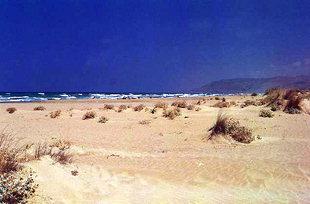 La plage de Georgioupolis