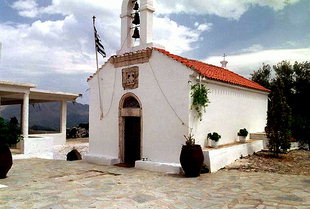 La chiesa di Agios Ioannis, Monì Diskouri