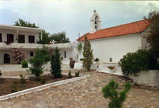 L'église d'Agios Ioannis, Moni Diskouri