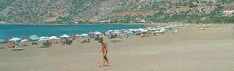 Η παραλία της Παλαιόχωρας