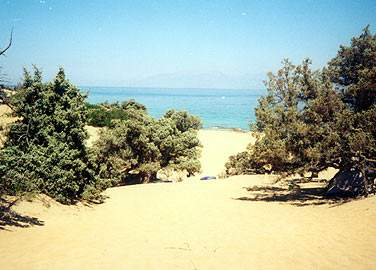 Agios Ioannis Beach on the Island of Gavdos