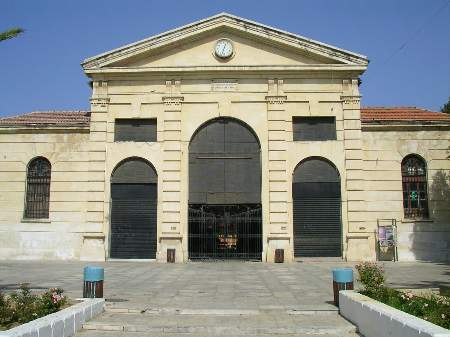 The Agora (market) in the center of Chania