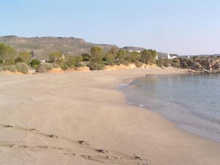Beach in Xerokampos