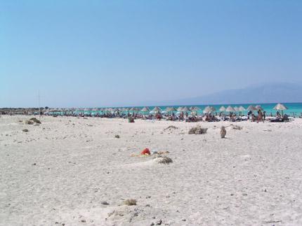 Beach on Chrisi Island