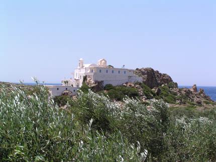 The Chrisoskalitissa Monastery