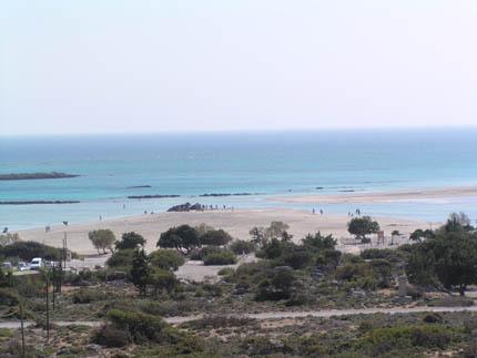 Strand von Elafonissi