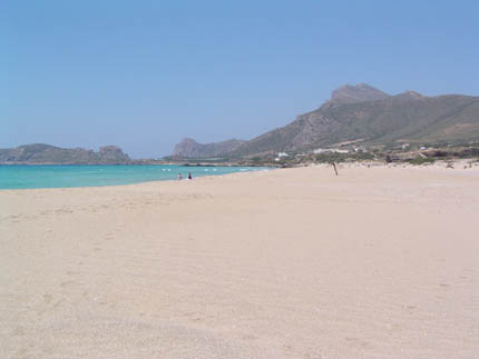 Η παραλία της Φαλάσαρνας
