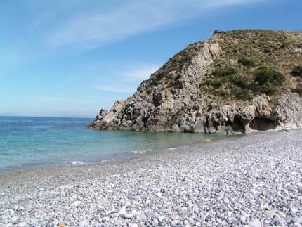 Der Strand von Menies