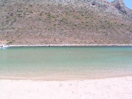 Der Strand von Stavros