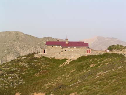 Mountain Refuge in Kalergis