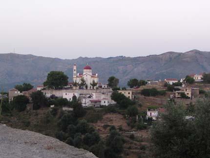 Άποψη του χωριού Λάκκοι