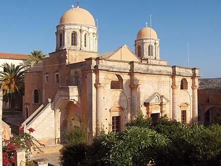 Il Monastero di Agìa Triada ad Akrotiri, Chanià