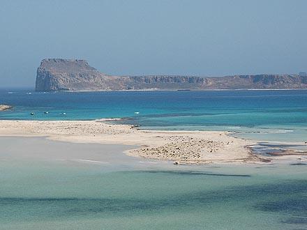 La péninsule de Gramvousa, Balos