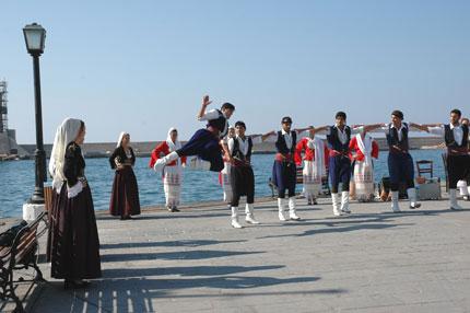 Cretan dance troupe