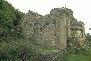 L'église de la Panagia Kera à Chromonastiri
