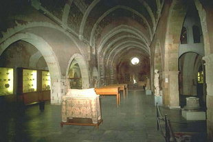 The Venetian church of San Francesco, the Archaeological Museum of Chania