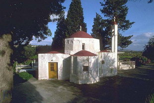 The Byzantine church of Agii Apostoli, Kato Episkopi