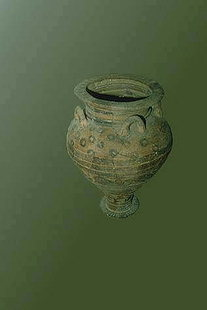 Large Minoan pithari, Sitia Museum