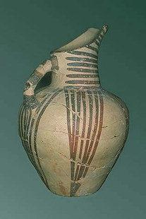 Koumasa o brocca in stile Mirtòs, del Periodo Prepalazziale