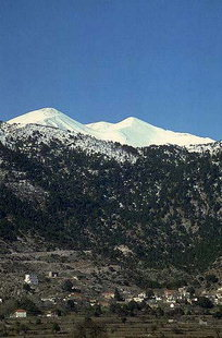 Askifou Plateau and Mount Kastro of the Lefka Ori
