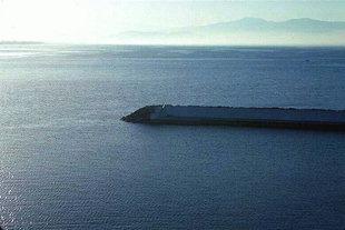L'entrée du port d'Agia Galini