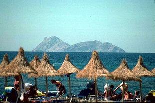 La plage de Matala