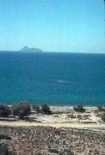 Spiaggia di Kommos e l'isola di Paximadia