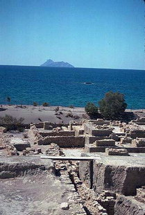 The Minoan site of Kommos